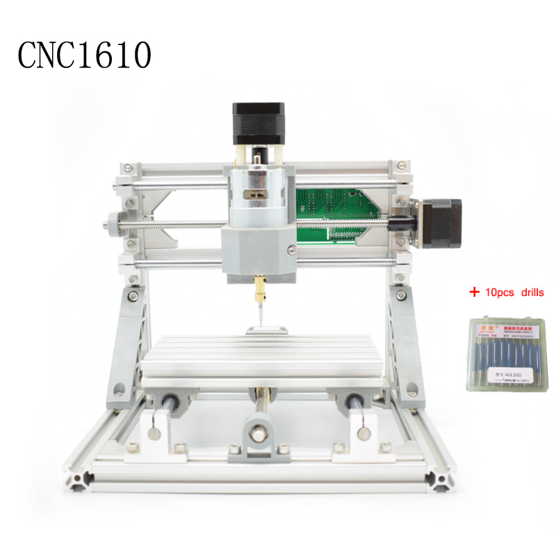 CNC 1610 GRBL control Diy mini CNC machine,working area 16x10x4.5cm,3 Axis Pcb Milling machine,Wood Router,cnc router ,v2.4 manufacturer of odm oem cnc machining fabrication cnc prototyping aluminum metal mateiral 14