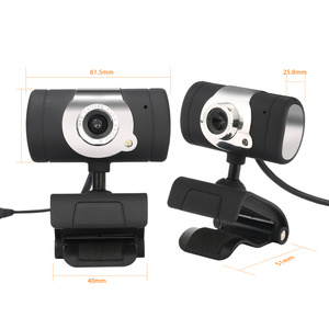 Image 5 - HXSJ  480P Webcam  1 LED PC Camera with Absorption Microphone MIC for Skype for Android TV Rotatable USB Web Cam Computer Camera