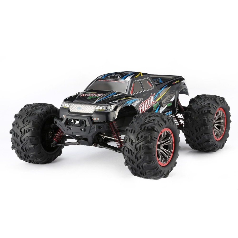 9125 4WD 1/10 High Speed 46km/h Electric Supersonic Truck Off-Road Vehicle Buggy RC Racing Car Electronic Toy RTR hongnor ofna x3e rtr 1 8 scale rc dune buggy cars electric off road w tenshock motor free shipping