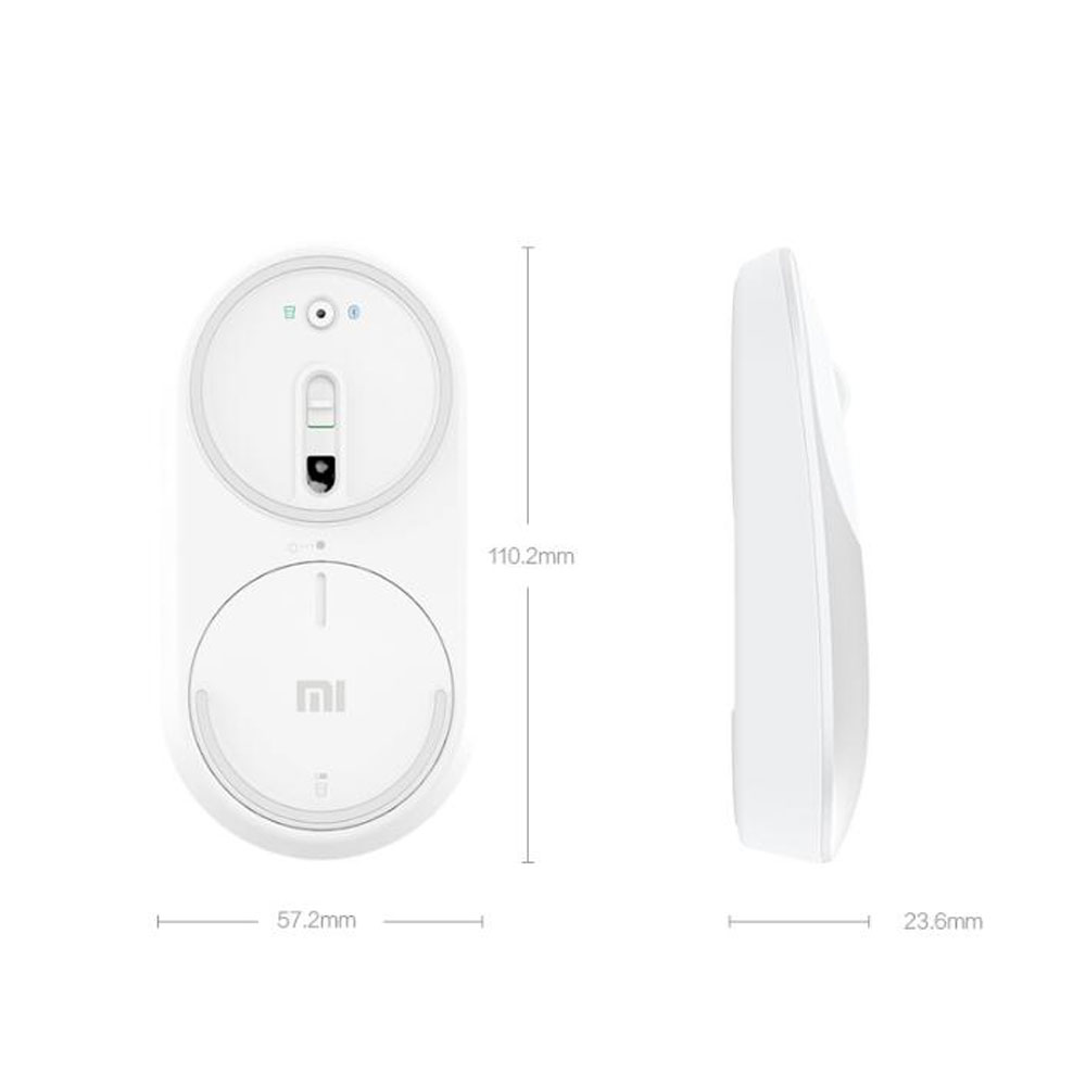 Image 5 - Original Xiaomi mi Mouse Portable Wireless In Stock Mi Mouse Optical Bluetooth 4.0 RF 2.4GHz Dual Mode Connect Mi 1200DPIMice   - AliExpress