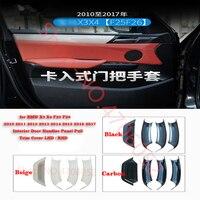 for BMW X3 X4 F25 F26 2010 2011 2012 2013 2014 2015 2016 2017 Interior Door Handles Panel Pull Trim Cover LHD / RHD