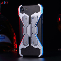 XFSKY Mobile Phone Case For Apple Iphone 7 Fashion Cool Aluminum Alloy And PC Metal Armor