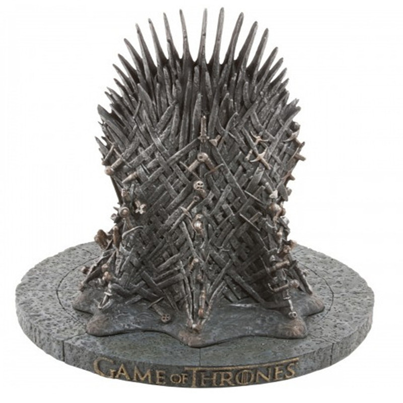 17cm The Iron Throne Game Of Thrones A Song Of Ice And Fire Figures Action & Toy Figures One Piece Action Figure Good Quality a song of ice and fire комплект из 7 книг карта