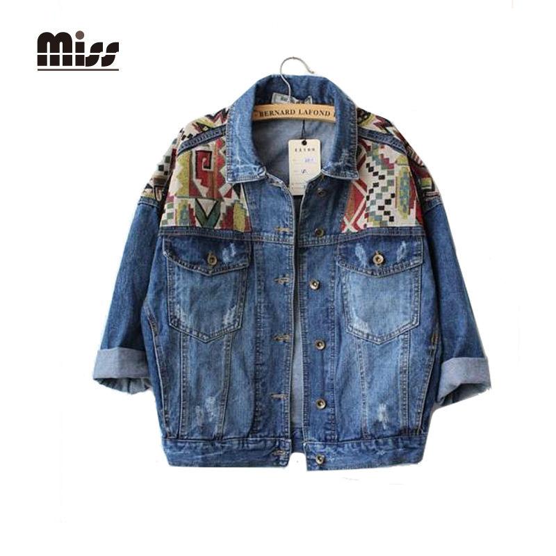 Online Buy Wholesale bomber jean jacket from China bomber jean