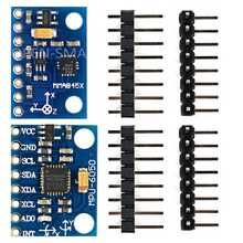 MMA8452 3-achsen-beschleunigungssensor modul Und MPU6050 modul 6-achsen-gyro Sensor Modul I2C Schnittstelle für Arduino und 4-achsen-flugzeuge