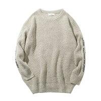 Korean Version Vintage Sweater Man S Day Department Retro Neutral College Wind Loose Pullover Autumn Free