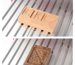 Image 5 - CNC1419 all metal piccolo desktop di incisione/rame metallo di alluminio macchina per incisione/macchina per incidere di CNC macchina