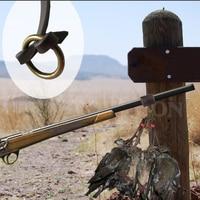 12 stapクラシックレトロ本革獲物キャリアフックウエスト狩猟ショットガンベルトバッグバット用アヒル鳥ウサギハンター屋外