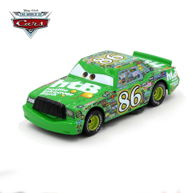 Disney Pixar Cars 2 Toys No 86 Hicks Metal Lightning Mcqueen Car Children