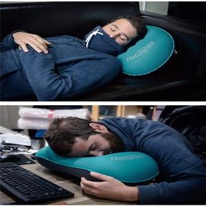 Image 5 - をnaturehikeキャンプマット折りたたみインフレータブルトラベルエアー枕ネックキャンプ睡眠ギアfast超軽量ポータブルtpuポケット