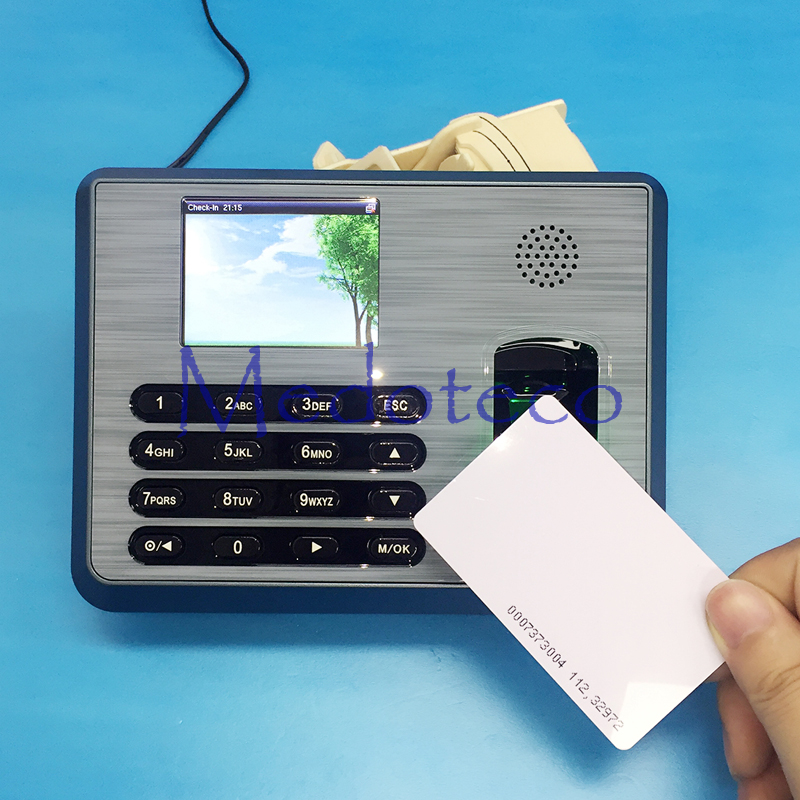 TX628 TCP/IP Biometric Fingerprint Time Attendance + 125khz Rfid Reader Employee Electronic Attendance With Fingerprint Reader