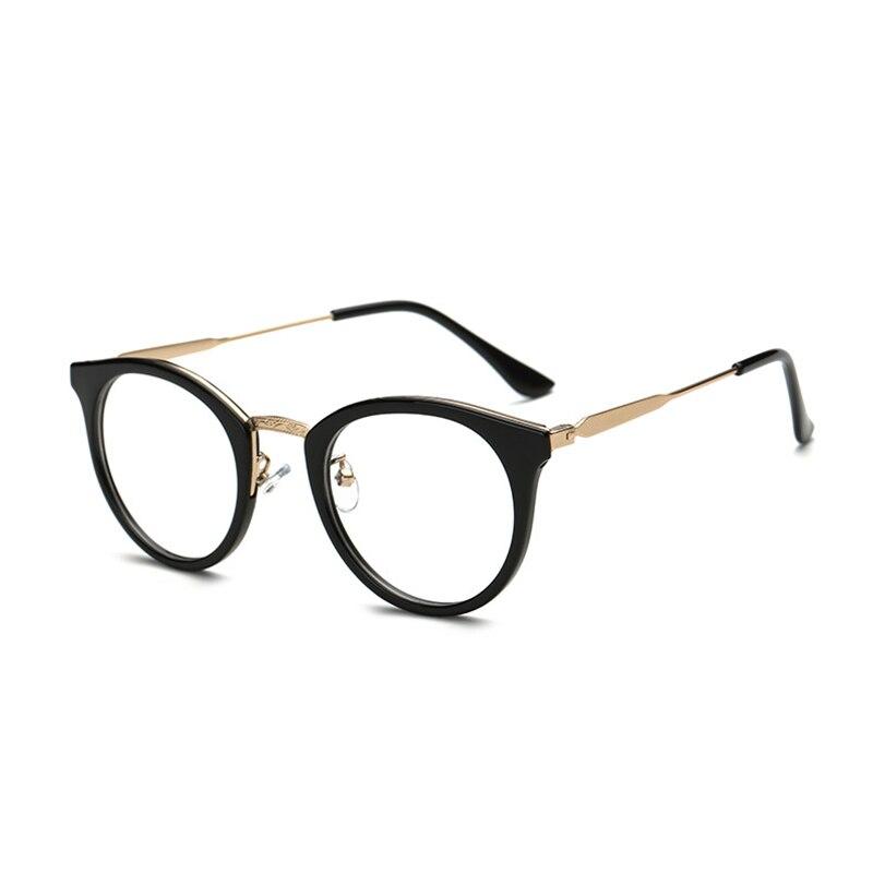 6de752dabbba Plastikowe okulary czarny brązowy wino czerwone okulary świeże  krótkowzroczność spektakl studentów mody okulary korekcyjne okulary ramki  JY5959 w Plastikowe ...