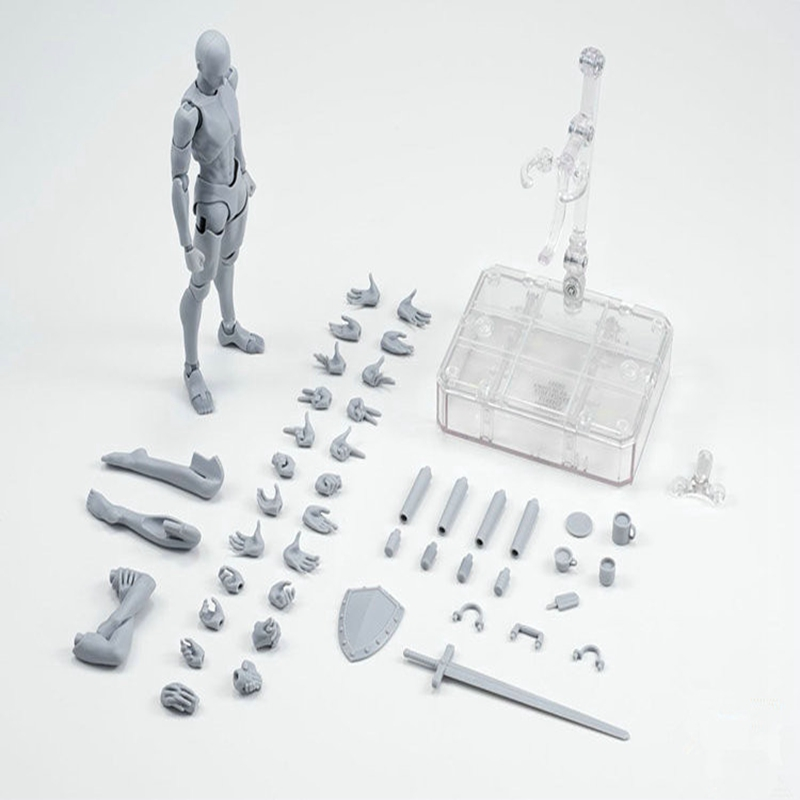 Arquétipo ele ela ferrite figma corpo móvel shf figma feminino kun corpo chan pvc figura de ação collectible modelo boneca menino presente
