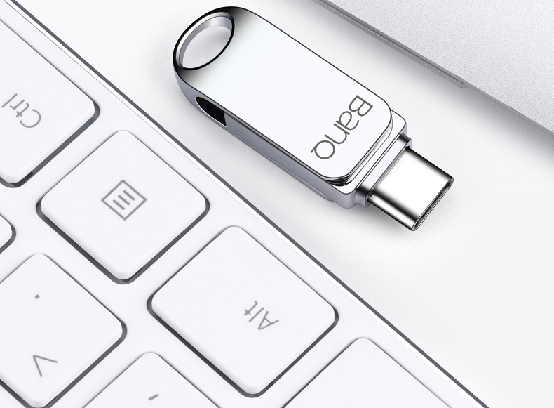 BanQ C61 USB Flash Drive 64GB 32GB Metal Pendrive High Speed USB Stick 32GB Pen Drive Real Capacity 16GB USB Flash Free Shipping