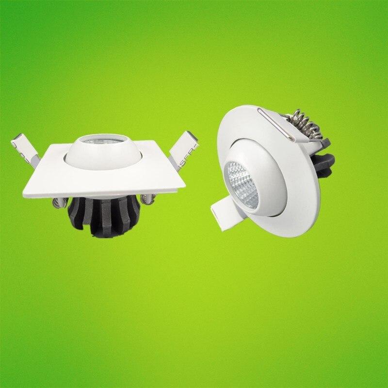 Мода 3 Вт 5 Вт пятно света под кабинет мини удара Светильники потолочные светодиодные потолочные встраиваемые лампа для ювелирных изделий Д...