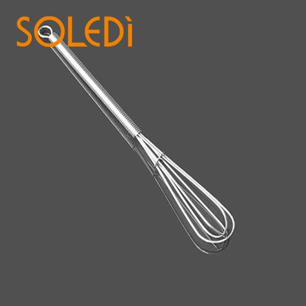 Mini Salon Hairdressing Tool Stainless Mini Whisk Mixer