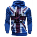 New Mens Sweatshirts The Who Flag Printed Fleece Hoody Men Hoodies  Top Brand Fashion Men Clothing Outwear Plus Size M-4XL