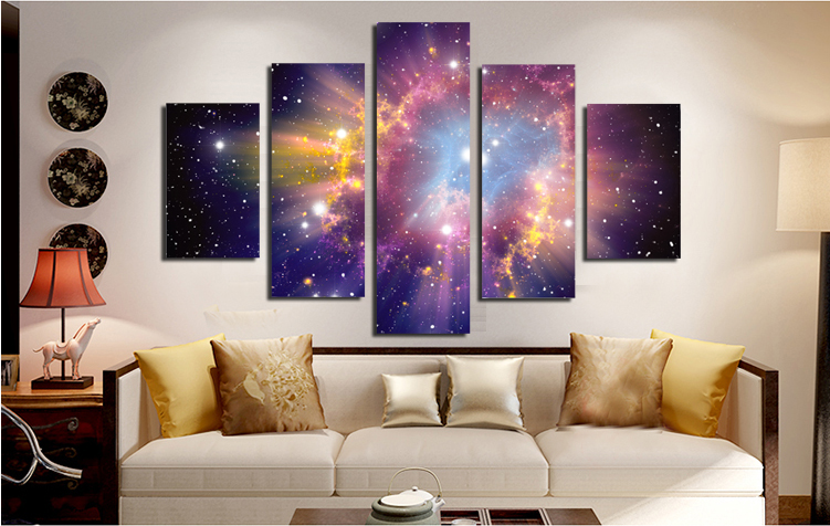 Beautiful sky Modern Giclee Canvas Prints Artwork on No Framed Canvas Printing Wall Art for Home and office Decorations Picture no frame canvas