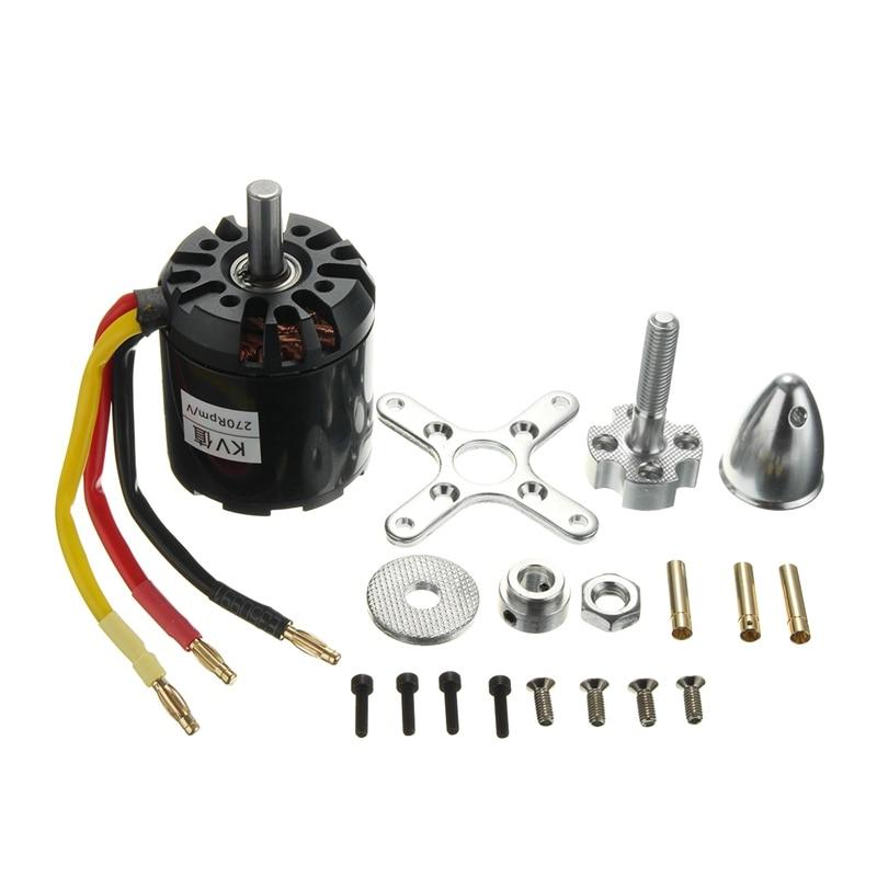 цены  New Arrival Brushless Outrunner Motor N5065 270KV 1665W For DIY Electric Skate Board