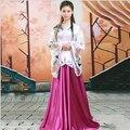 Para mujer Mujeres Ropa de Estilo Chino Antiguo Tradicional Tang Vestido de Traje de Princesa de Hadas Chino Chino Hanfu Traje de Las Mujeres
