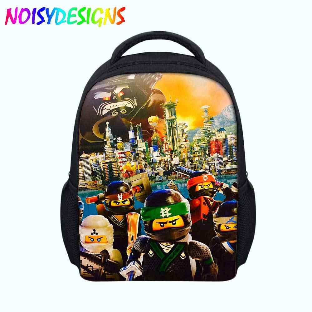 School bag For Kids Ninjago Children Travel Bag Boys Girls Student Bags  Cartoon Mini satchel Backpack d6f2c87180ff6