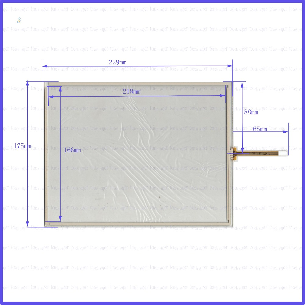 ZhiYuSun  229mm*175mm 170913 10inch Touch Screen glass 4 wires resistive USB touch panel overlay kit   229*175 TOUCH SCREEN 26 infrared touch screen ir touch panel overlay with 3mm vandal proof glass magic mirror touch screen photo booth touch screen