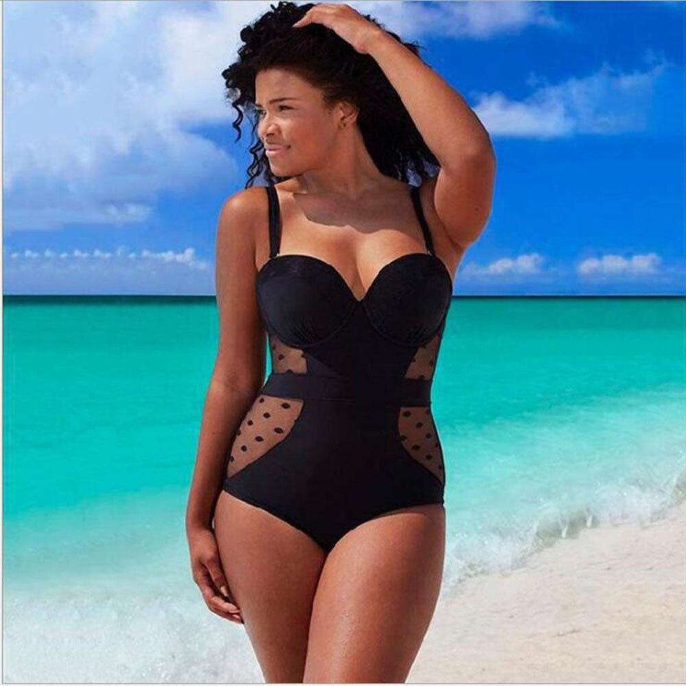 US $18.17 |Badeanzug frauen plus größe bikini Monokini Bademode große größen Gepolsterte Bikini Set badeanzüge tankini mayo C0619 in Body Suits aus