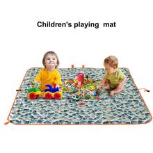 Buy HobbyLane Outdoor Travel Multi-purpose Camping Mat Portable Double-layer Moisture Double Beach Mat for Beach Picnic Camping directly from merchant!