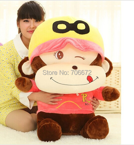 все цены на stuffing toy ,110cm naughty monkey plush toy,birthday present, Chirstmas gift s0719 онлайн