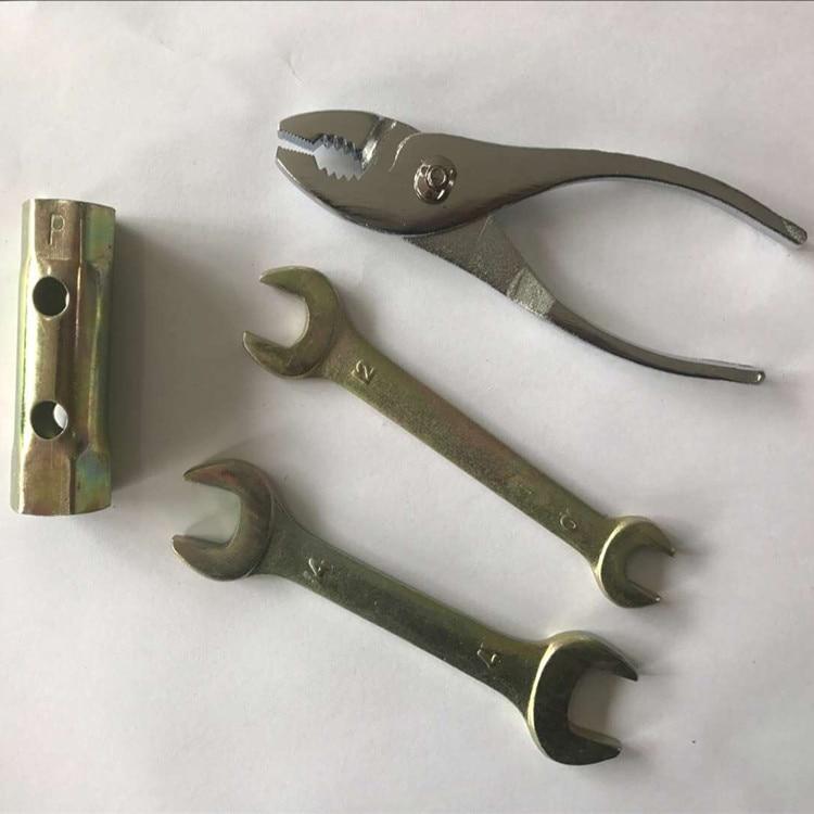 Darmowa wysyłka 9 sztuk stock zestaw narzędzi ręcznych klucz - Zestawy narzędzi - Zdjęcie 3