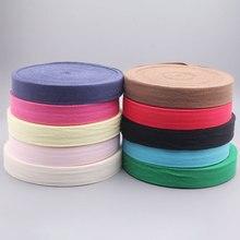 Savica 10meter/lot 3cm Strap Herringbone Woven Cotton Webbing Fabric Sewing Belt For Bags Garment DIY Accessories LX632