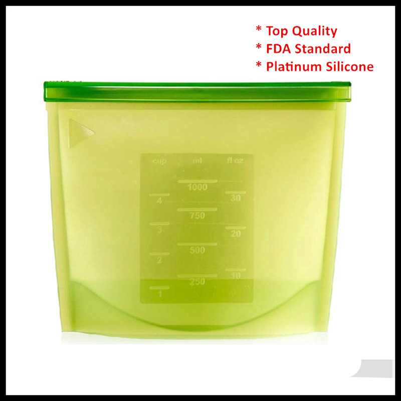 top quality soup freezer bag fresh bag fresh vegetable storage container silicone food bag with