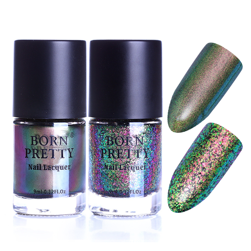 2 flasker BORN FETT Eternal Life Chameleon Nail Polish Destiny Fairy - Manikyr - Bilde 5