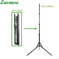 Professional Light stand Metall & Kunststoff Stabile 4 Abschnitt Verstellbare 52 cm ~ 180 cm Für Studio Flash/Speedlite/SoftBox, etc