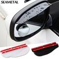 2 unids/par universal de Coche Rain Shield Flexible Peucine Posterior Auto espejo Retrovisor de la Guardia Lluvia Shade styling Accesorios