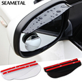 2pcs/pair Car universal Rain Shield Flexible Peucine Auto Rear Mirror Guard Rearview mirror Rain Shade styling  Accessories