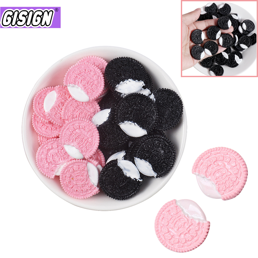 DIY Slime Addition Chocolate Cookies Polymer Slime Charms Lizun Modeling Clay Accessories Toys For Slime Supplies Kit