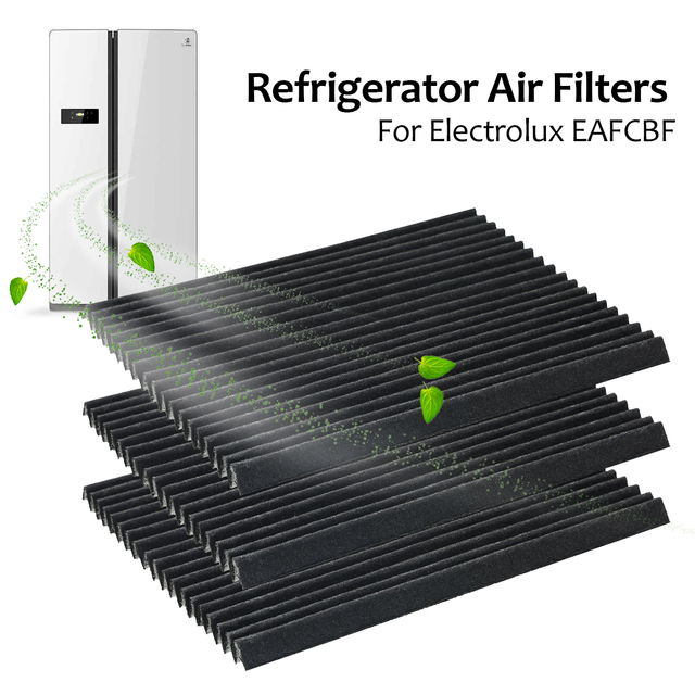 US $22 16 |5Pcs Refrigerator Pure Air Filter Frigidaire Replacement for  PAULTRA Electrolux EAFCBF Refrigerator Parts & Accessories-in Refrigerator