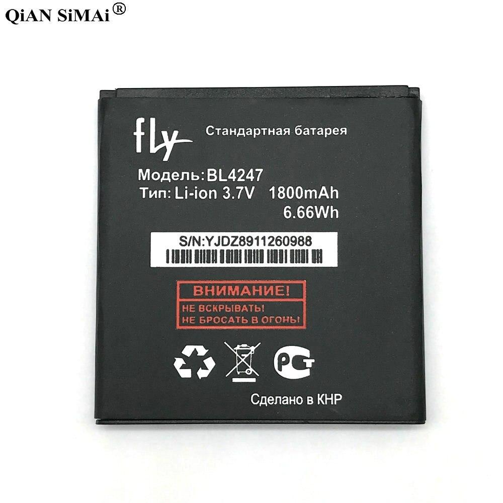 Новый высокое качество <font><b>bl4247</b></font> 1800 мАч батарея для Fly <font><b>IQ442</b></font> телефон