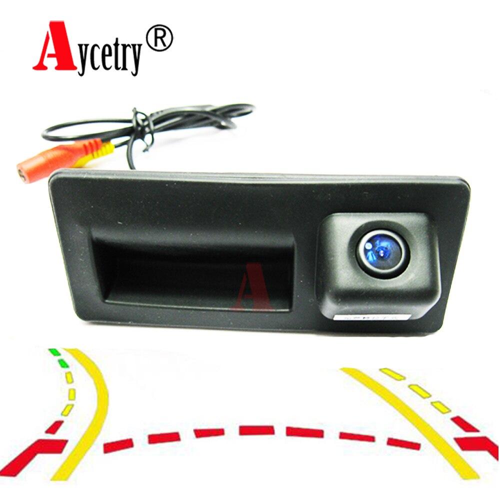 Для Audi/A4/A5/S5/Q3/Q5/VW/Passat B6 B7/Tiguan/Golf 5 6 7/sharan/Jetta/Touareg CCD HD ручка багажника автомобиля камера заднего вида