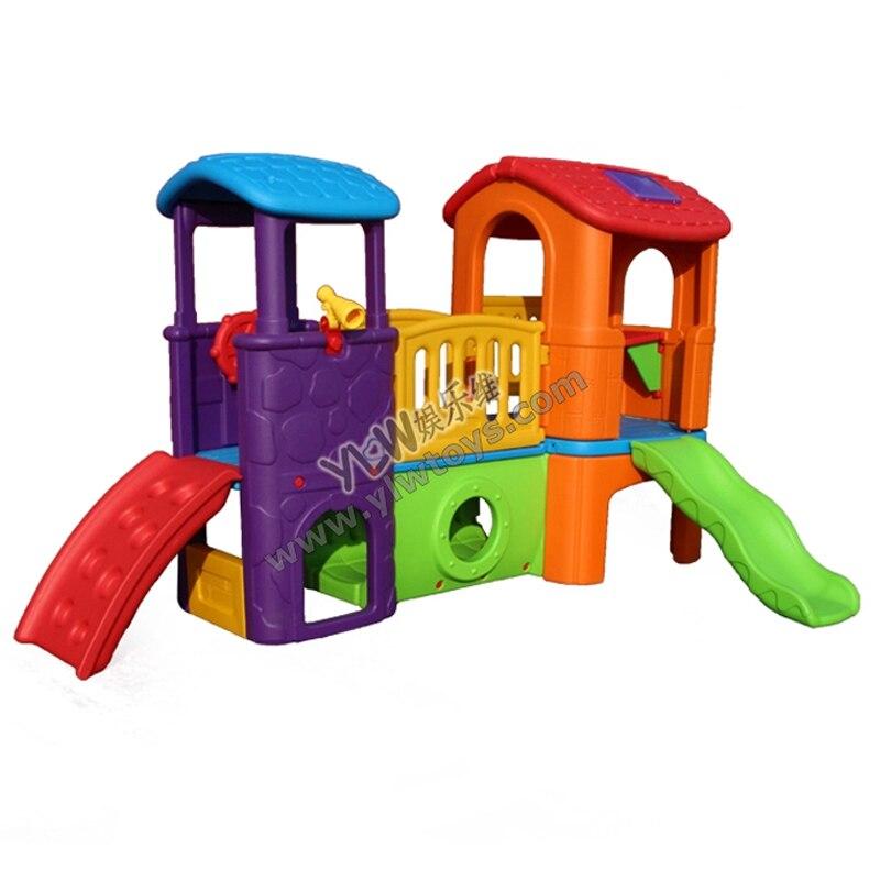 Petits enfants glissent pour aire de jeux intérieure enfants jouets diapositives pour aire de jeux, aire de jeux en plastique d'amusement