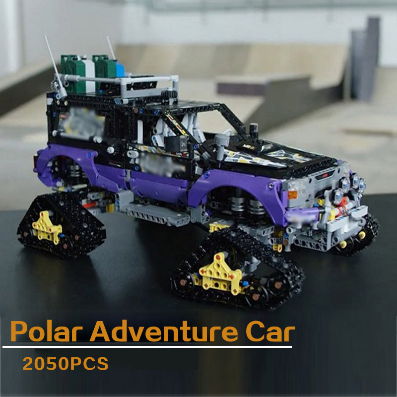 LEPIN 20057 Technic Series Extreme Adventure Car 42069 Snowfield Chariot Building Blocks Bricks Toys Gift For Children lepin 02012 774pcs city series deep sea adventure boat model building blocks bricks toys for children gift 60095