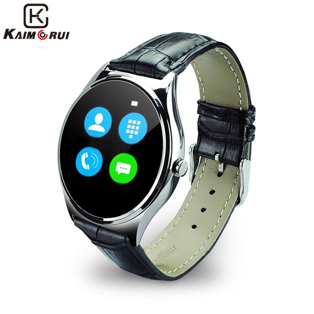 Kaimorui Smart Watch Android Bluetooth Smartwatch Heart Rate Monitor Support Touch Screen for IOS Android