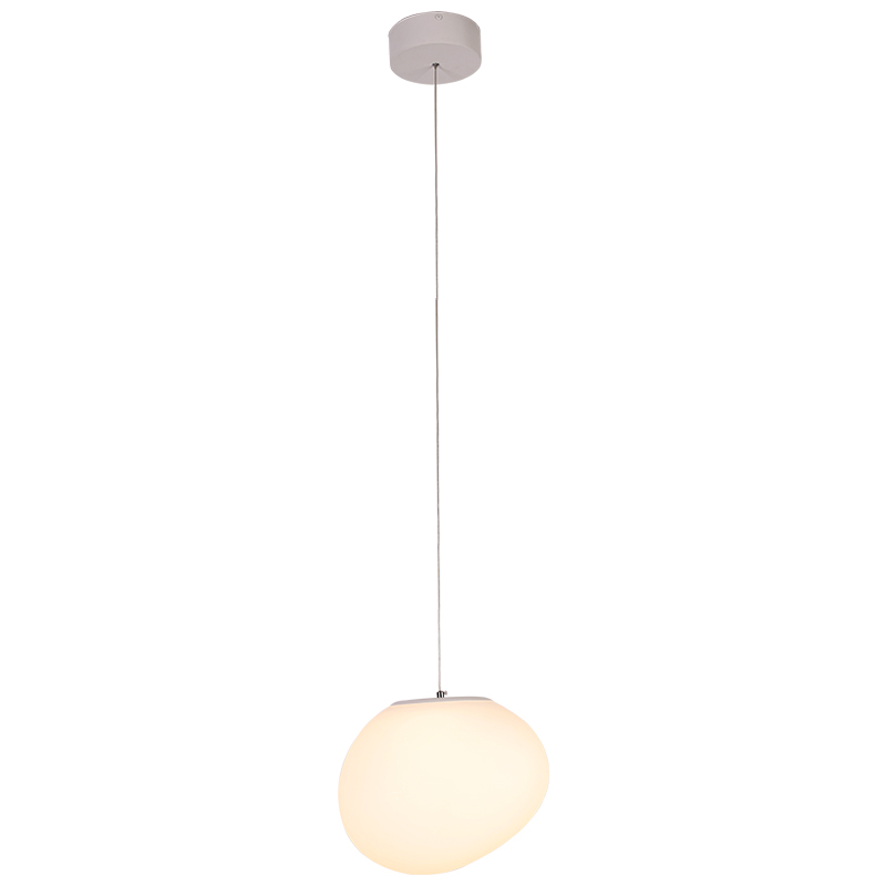 Modern Easy Fit Frosted PE Globe LED Ce led pendant lighting living room lighting kitchen room lighting in Ceiling Lights from Lights Lighting