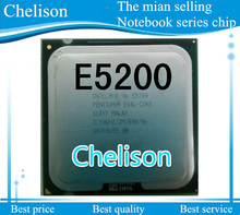 Lifetime warranty Pentium E5200 2.5GHz 2M 800 Dual Core desktop processors CPU 5200 Socket LGA 775 pin Computer Free shipping