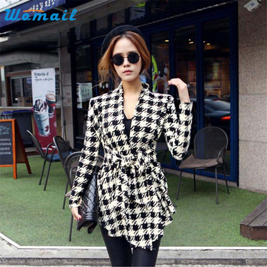 Popular Houndstooth Coat-Buy Cheap Houndstooth Coat lots from ...