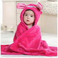New Baby Blankets Size 90*80cm  Cartoon Red Warm Blanket High Quality Receiving Blanket For Newborn 0-2 Years Unisex