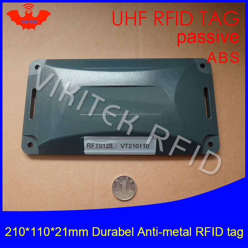 UHF RFID anti-metal tag 915m 868m Alien H3 210*110*21mm EPC Gen2 6C durable ABS very long distance smart card passive RFID tags 2016 trays management anti metal epc gen2 alien h3 uhf rfid tag 50pcs lot