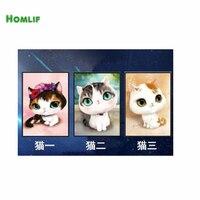 HOMLIF 5D Diamond Embroidery Diy Diamond Painting Pictures Diamond Mosaic Gift Diamond Picture Home Decor Three