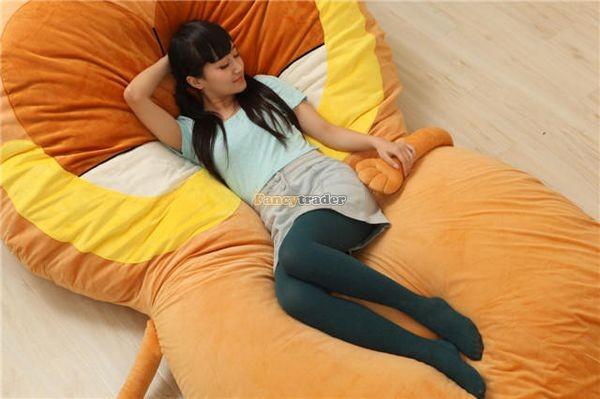 Fancytrader 220cm X 150cm Soft Giant Cute Garfield Cat Bed Carpet Tatami Mattess Sofa, FT50322 (8)